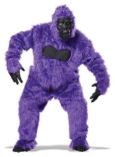 California Costumes Mens Full Gorilla Suit Costume Purple One Size ** For more information, visit image link.