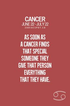 Cancer Zodiac Sign finds that special someone...