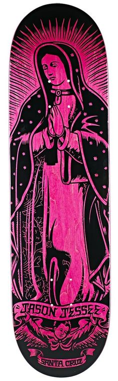 Santa Cruz Jessee Guadalupe Pink Deck