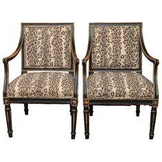 Set of Four Old French Fauteuils | From a unique collection of antique and modern armchairs at https://www.1stdibs.com/furniture/seating/armchairs/