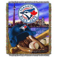 Toronto Blue Jays MLB Home Field Advantage 48 X 60 Woven Tapestry Throw for sale online Toronto Blue Jays, Mlb Blue Jays, Blue Throws, Chicago White Sox, Tapestry Weaving, Major League, Team Logo, Blanket