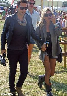 Jamie and Kate's festival style
