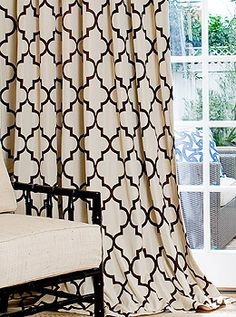 Great curtain fabric!