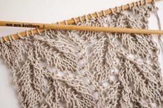 Comment tricoter un point ajouré feuille ? | The Blog - FR