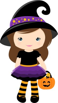 · ★: I arrive the Hallowen! Halloween Imagem, Chat Halloween, Halloween Mignon, Bonbon Halloween, Moldes Halloween, Halloween Borders, Halloween Cartoons, Halloween Clipart, Halloween Doll