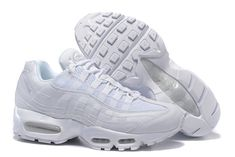 detailed look f1126 200c1 Nike Air Max 95 Hommes Blanc Pas Cher Nike Max, Cheap Nike Air Max,