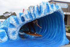 The Big Wave, Newhaven, Australia