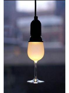 LED Lampbol in de vorm van een Wijnglas