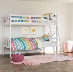 Bunk Beds For Sale, Bunk Beds For Girls Room, Safe Bunk Beds, Toddler Bunk Beds, Kids Toddler Bed, Cool Bunk Beds, Twin Bunk Beds, Kid Beds, Girls Bedroom