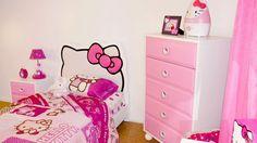 Hello Kitty Bedroom.
