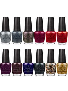 OPI James Bond Collection - Fall 2012