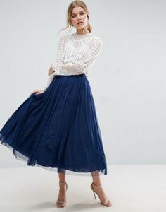 ASOS | ASOS Tulle Prom Skirt with Multi Layers