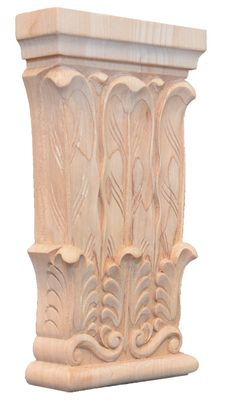 carved capital - Providence carved wood capitals - #woodcarving #capital #millwork
