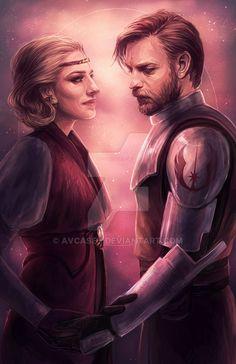 Satine & Obi-Wan