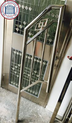 Window Grill Design Modern, Modern Design, Gates And Railings, Steel Gate Design, Welding And Fabrication, Brooklyn, It Works, Stainless Steel, Gallery