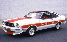 1978 Ford Mustang II Cobra II -  #cars #coches #carros