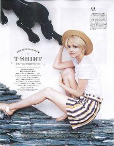 ジゼル 雑誌 モデル アリサ ALISA