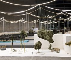 Ronan and Erwan Bouroullec have created models exploring better ways for nature and cities to interact.