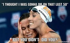 Trying to comfort my poor lanemates. Swimming Motivation, Sport Motivation, Swimming Tips, Keep Swimming, Swimmer Quotes, Swimmer Problems, Swim Team, Water Polo, Sports Humor
