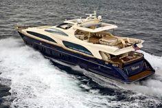 Charter Yacht Brochure VIVERE - Azimut Yachts 116ft (35.5m) #BestofYachting #CharterYachts