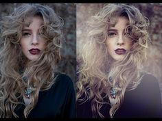 How to edit and color fashion portraits - Photoshop Tutorial - YouTube