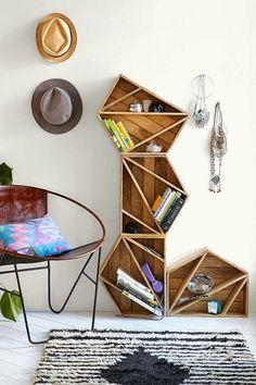 Méchant Studio Blog: geometric shelving