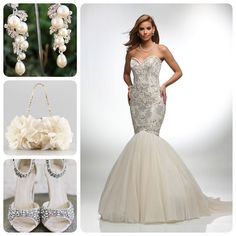 A completely #luxe and #glam #weddingdaylook! #VHC