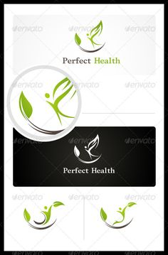 Perfect Health Logo Design Template Vector #logotype Download it here: http://graphicriver.net/item/perfect-health/3457124?s_rank=742?ref=nexion