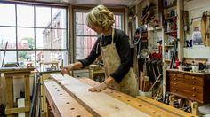 A visit to the workshop of Guild member and studio maker Erin Hanley Fine Furniture of Burlington, Vermont