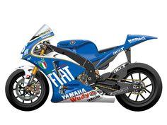 Yamaha YZR-M1 2008 - Azzurra