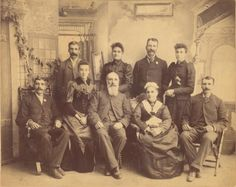 The Robert McLaughlin Gallery (RMG) houses The Thomas Bouckley Collection of historical Oshawa, ON photographs. Antique Photos, Old Photos, Canadian Winter, Red River, Winter Solstice, Vintage Postcards, Family Portraits, Front Row, Vintage Antiques