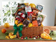 Abundant Christmas Day Basket by Halegroves.com