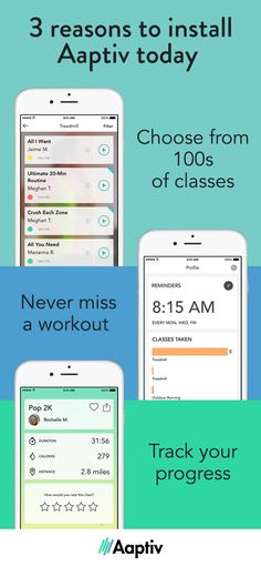 Personal training. Anytime, anywhere. Aaptiv is the #1 Audio Fitness & Training App. Get on-demand audio fitness that combines the guidance of a trainer with the perfect playlist to give you a fresh way to work out. Download Now!