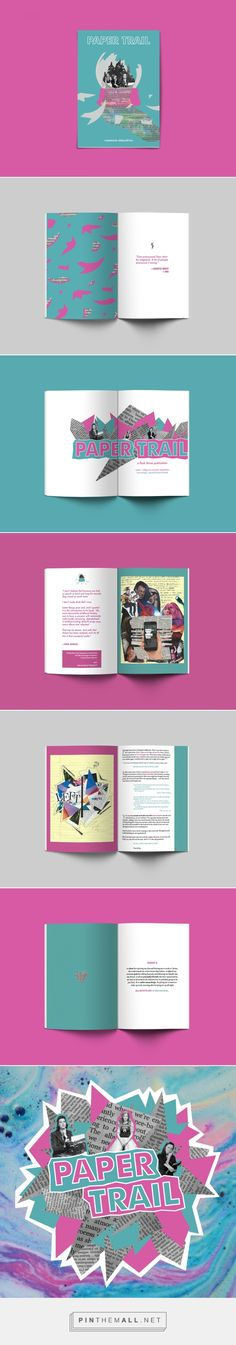 paper trail | a flash thrive zine on Behance - created via https://pinthemall.net