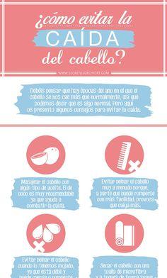 Tips para evitar la caída del cabello en mujeres. #infografia #cabello