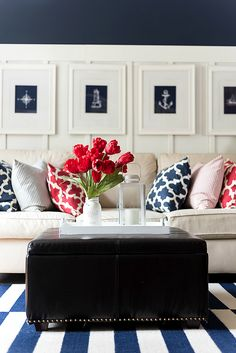Red White Blue Americana Summer Decor - It All Started With Paint