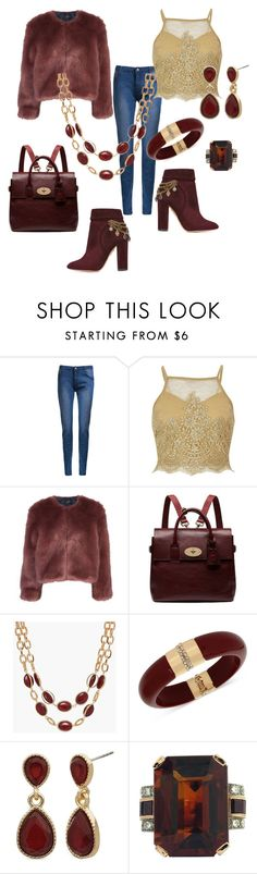 """""""Victory is in the cards ♣️"""" by lisaaucointarantino ❤ liked on Polyvore featuring River Island, Stine Goya, Mulberry, Talbots, INC International Concepts, New Directions and Aquazzura"""