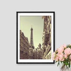 Eiffel tower Vintage Instant Download Paris Print by AskPrintables