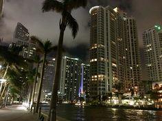 Brickell Miami - View from the Cantina La Veinte Restaurant