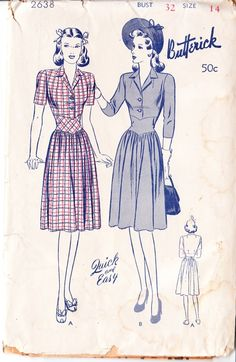 Butterick 2638......<3 this style!