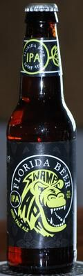 Florida Beer Company - Florida Beer Swamp Ape IPA  Syle:  Imperial/Double IPA  Melbourne, FL  ABV:  10%