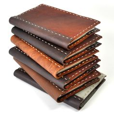 Handstitched Rustic Leather Moleskine Cover