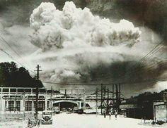 Nagasaki 20 minutes after, 1945