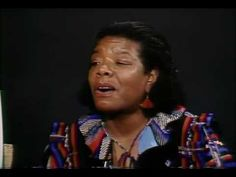▶ Maya Angelou - All God's Children Need Traveling Shoes - Part 1 - YouTube