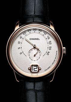 La Cote des Montres : Monsieur de CHANEL - Une montre Monsieur conçue…