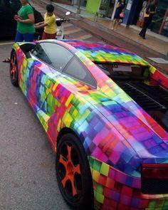 """# LAMBO warna-warni siapa ni ? # (Hari itu EH-MIN pun jumpa kat Lebuhraya Kesas tapi tak sempat ambil gambar kerana.... laju sangat lah.) # """"Like"""" kami di http://ift.tt/1NhKoh0 http://ift.tt/1Gpi2Sb INSTAGRAM #ehmotorcredit BLACKLIST CCRIS FULL LOAN untuk beli kereta # #ehmotorcredit #car #kereta #proton #perodua #toyota #nissan #honda #ford #usedcar #malaysia #waja #iswara #wira #gen2 #persona #myvi #kelisa #kancil"""