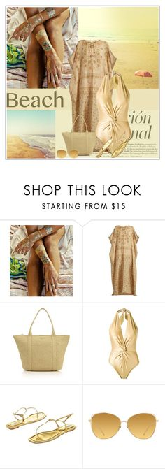 """""""Sem título #605"""" by soleuza ❤ liked on Polyvore featuring Therapy, Mes Demoiselles..., Eric Javits, Martha Medeiros, Prada and Linda Farrow"""