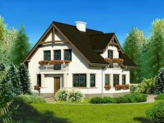 Projekt+Dom+przy+Przyjaznej