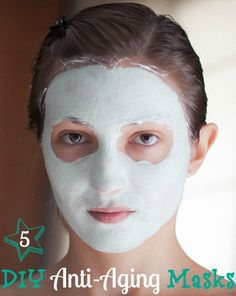 DIY Anti-Aging Masks @HomeLifeAbroad.com #diymask #antiageningmask #beauty