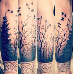 Forest on the arm
